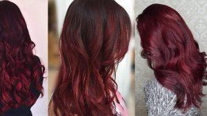 Aplikasikan Warna Burgundy untuk Rambut
