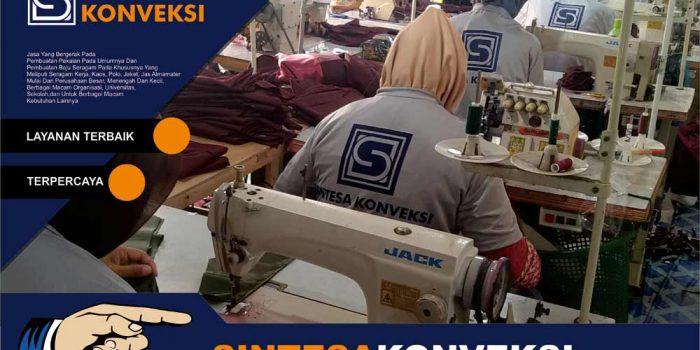 Jasa Pembuatan Kemeja Kerja Berkualitas di Sintesa Konveksi